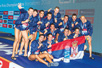 Serbian golden water polo players (Photo: Archive of the Water Polo Association of Serbia)